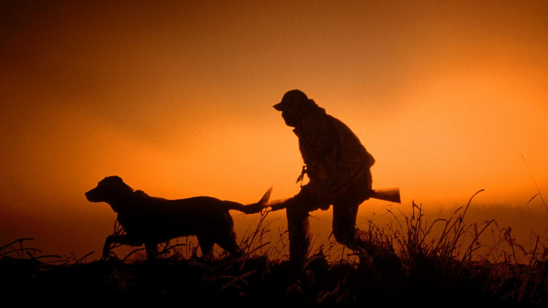 hunting-silhouette-wallpaper-1